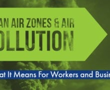 clean air zones and air pollution business