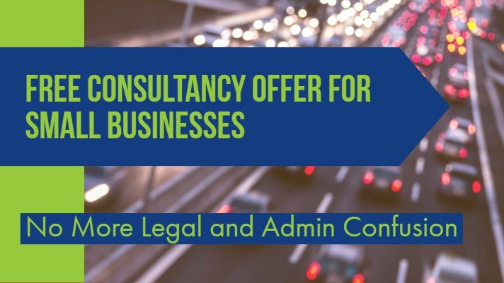 free consultancy offer for small businesses