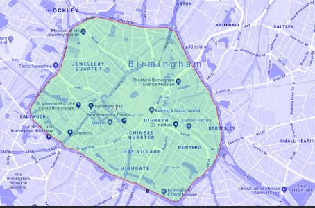 Proposed LEZ area