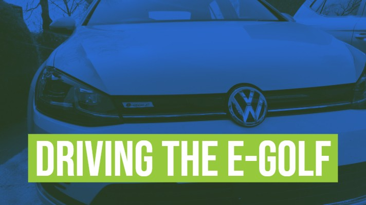driving the vw egolf